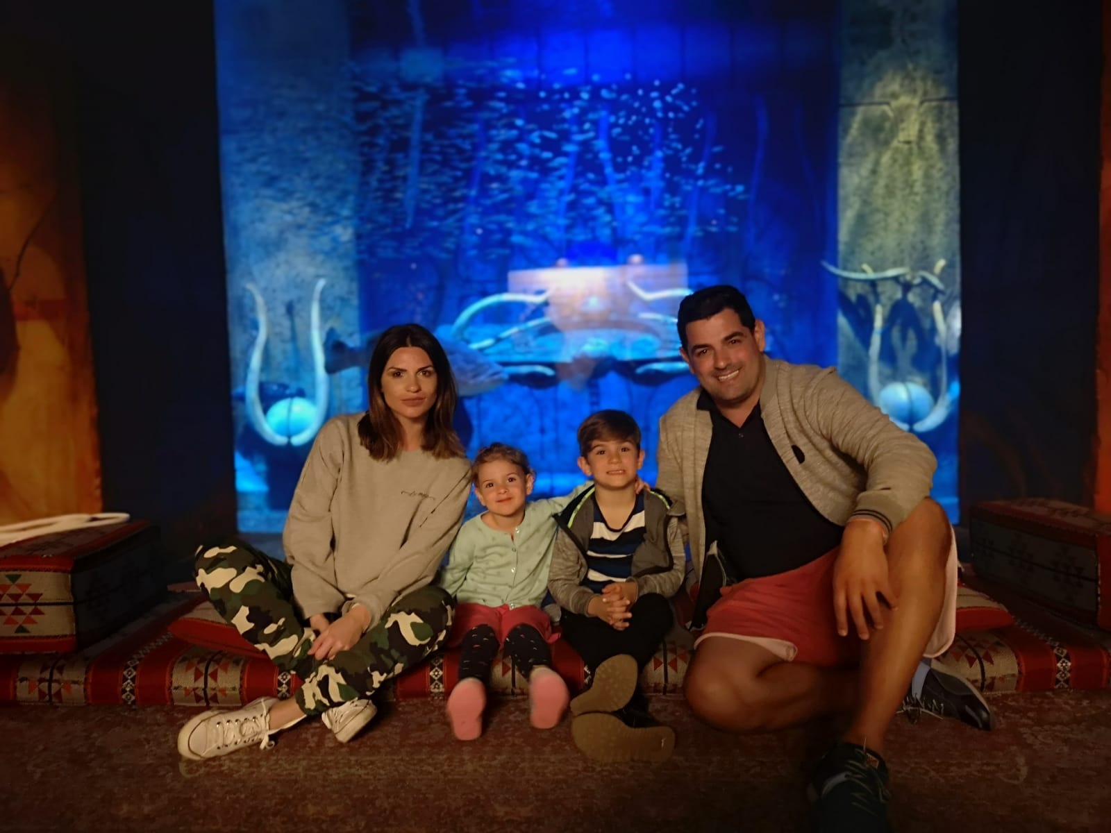 ellie white atlantis the palm dubai lost chambers aquarium